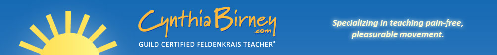 Cynthia Birney - Guild Certified Feldenkrais Teacher